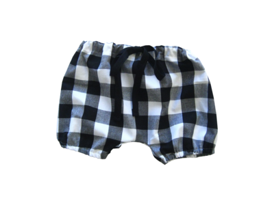 B+W Gingham Bloomers