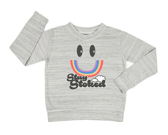 Stay Stoked Fleece Pullover