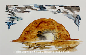 Image of Art Card: All My Relations by Metis Artist Colleen Gray Indigenous Canadian Art Work. For sale at https://artforaidshop.ca