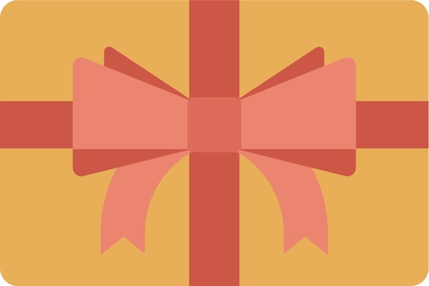 Gift Cards ($100, $50, $25, $10)