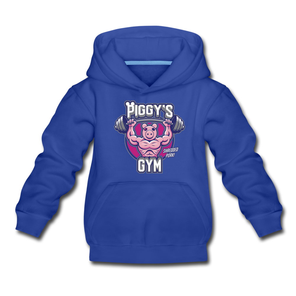 Piggy's Gym Hoodie - royal blue