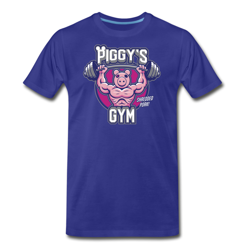 Piggy's Gym T-Shirt (Mens) - royal blue