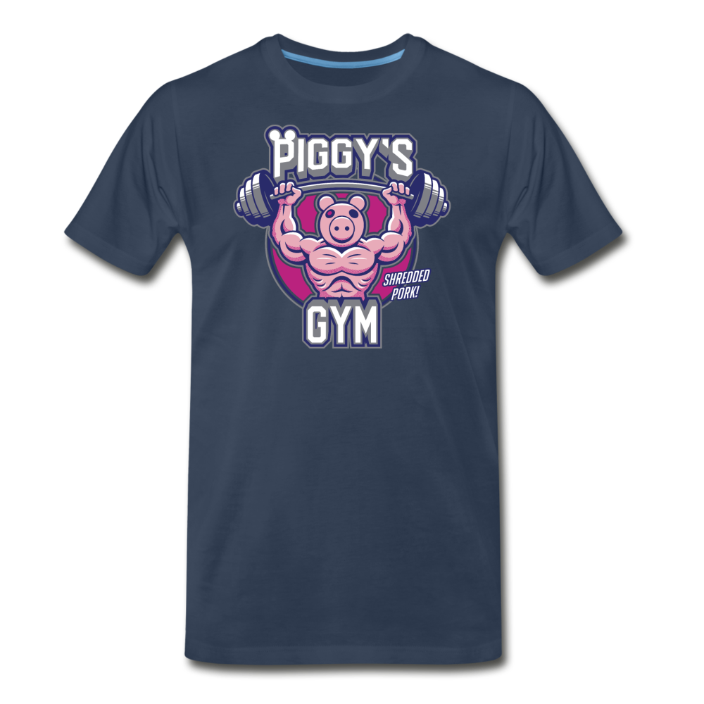 Piggy's Gym T-Shirt (Mens) - navy