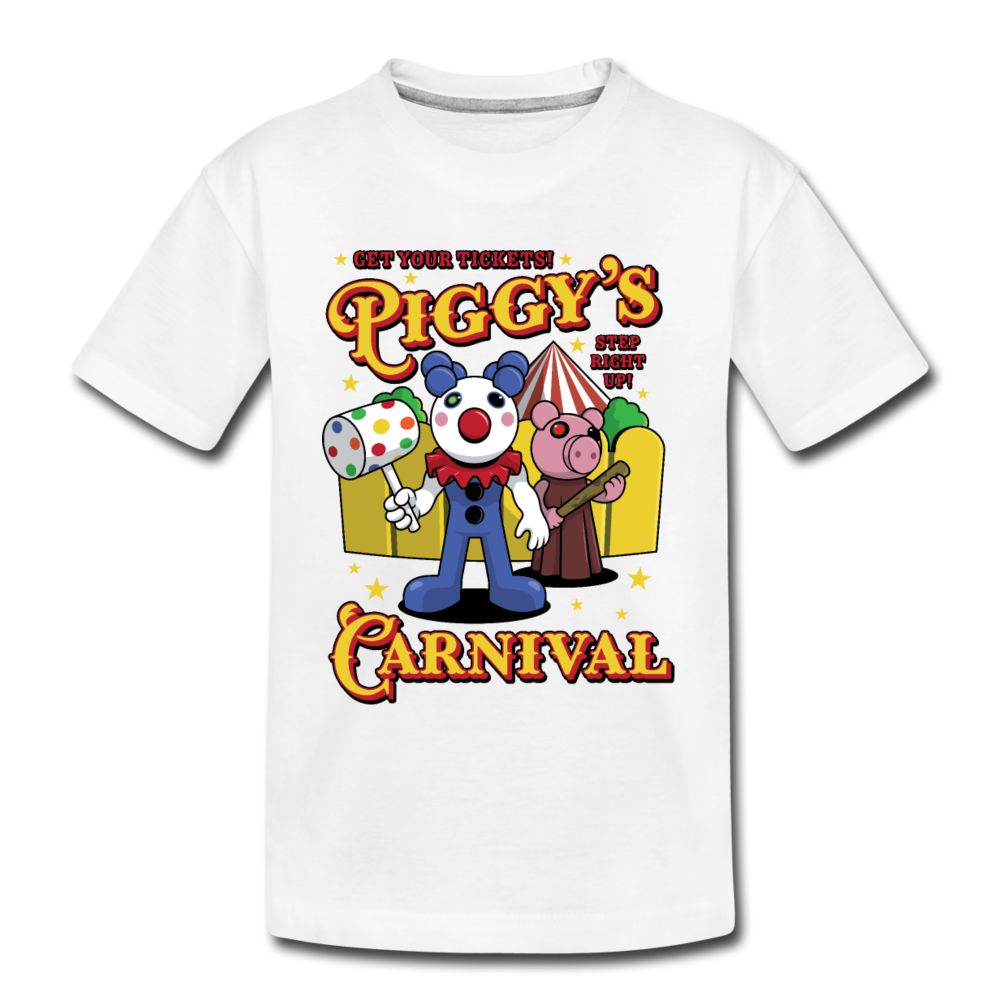 Piggy's Carnival T-Shirt - white