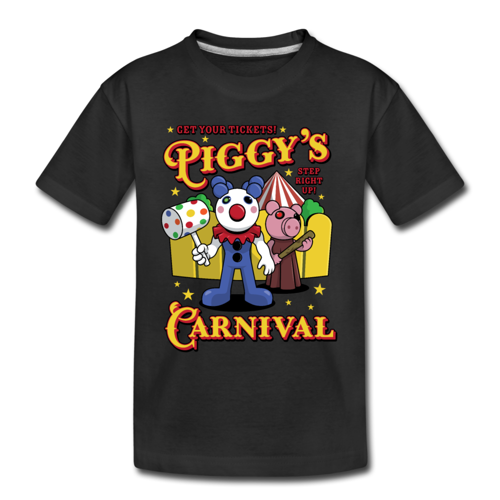 Piggy's Carnival T-Shirt - black