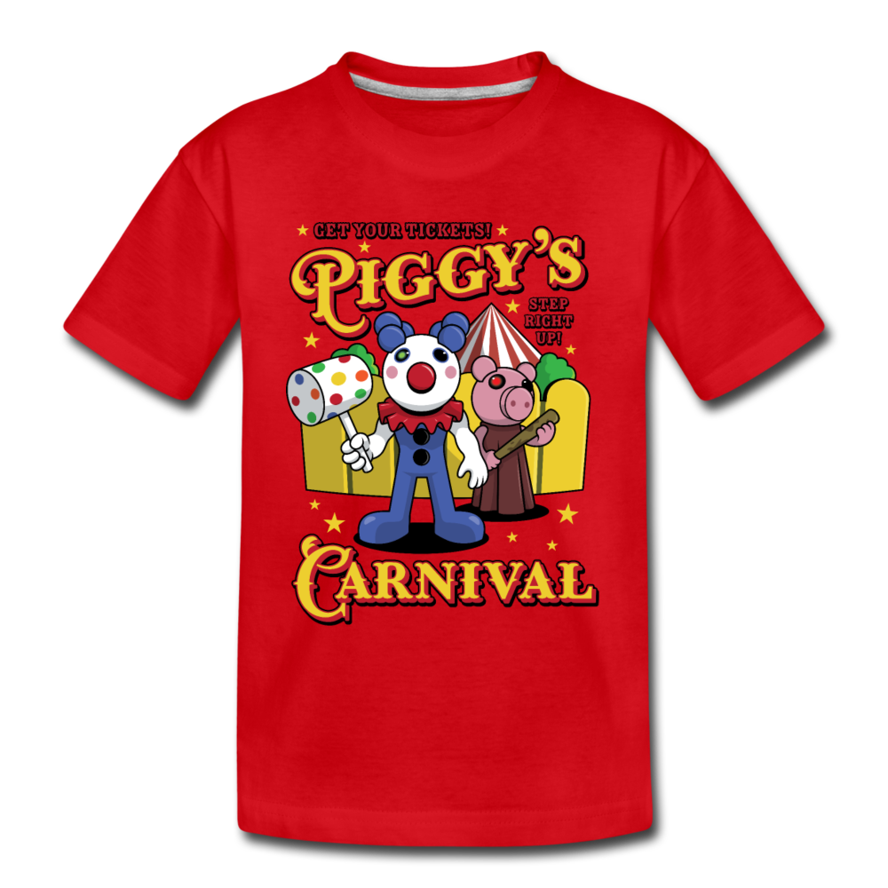 Piggy's Carnival T-Shirt - red
