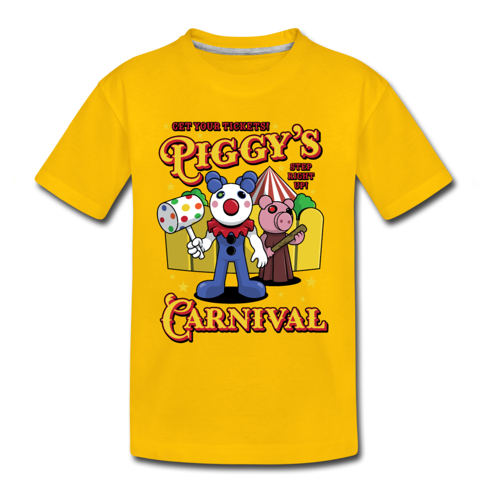 Piggy's Carnival T-Shirt - sun yellow