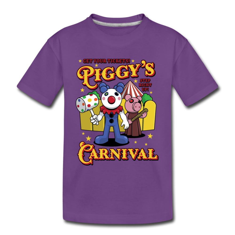 Piggy's Carnival T-Shirt - purple