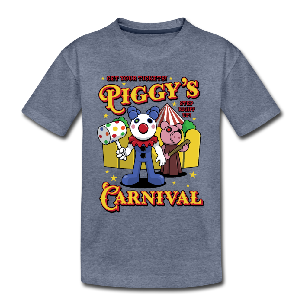 Piggy's Carnival T-Shirt - heather blue
