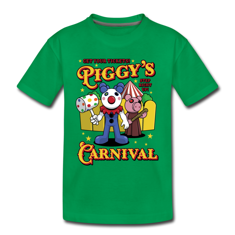 Piggy's Carnival T-Shirt - kelly green