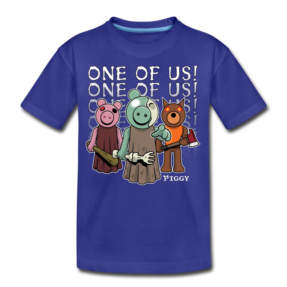Piggy One Of Us! T-Shirt - royal blue