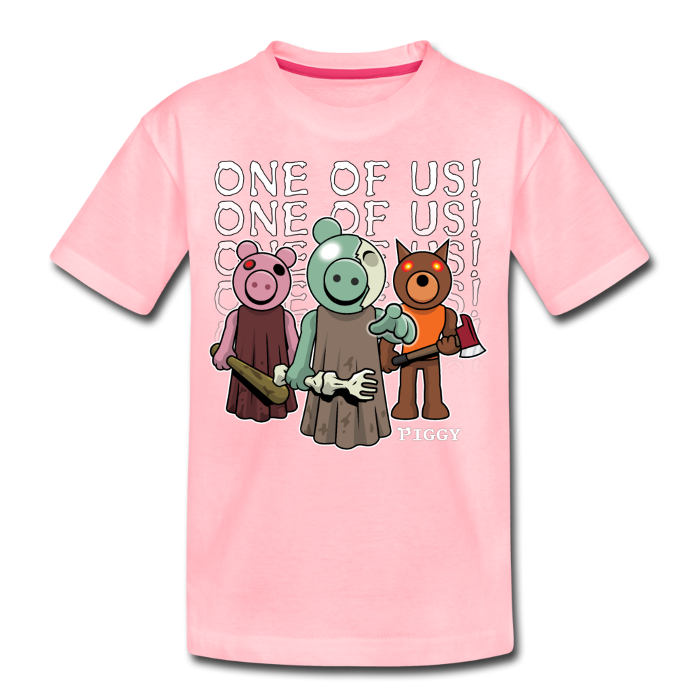 Piggy One Of Us! T-Shirt - pink