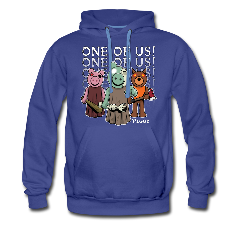 Piggy One Of Us! Hoodie (Mens) - royalblue