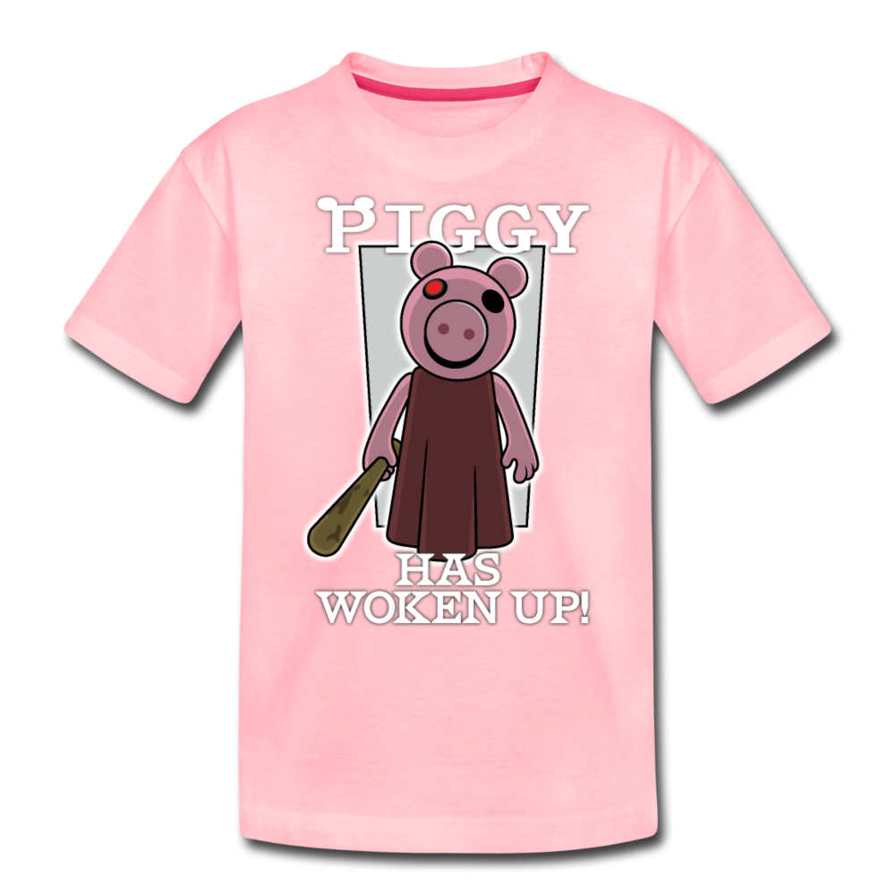 Piggy Has Woken Up T-Shirt - pink