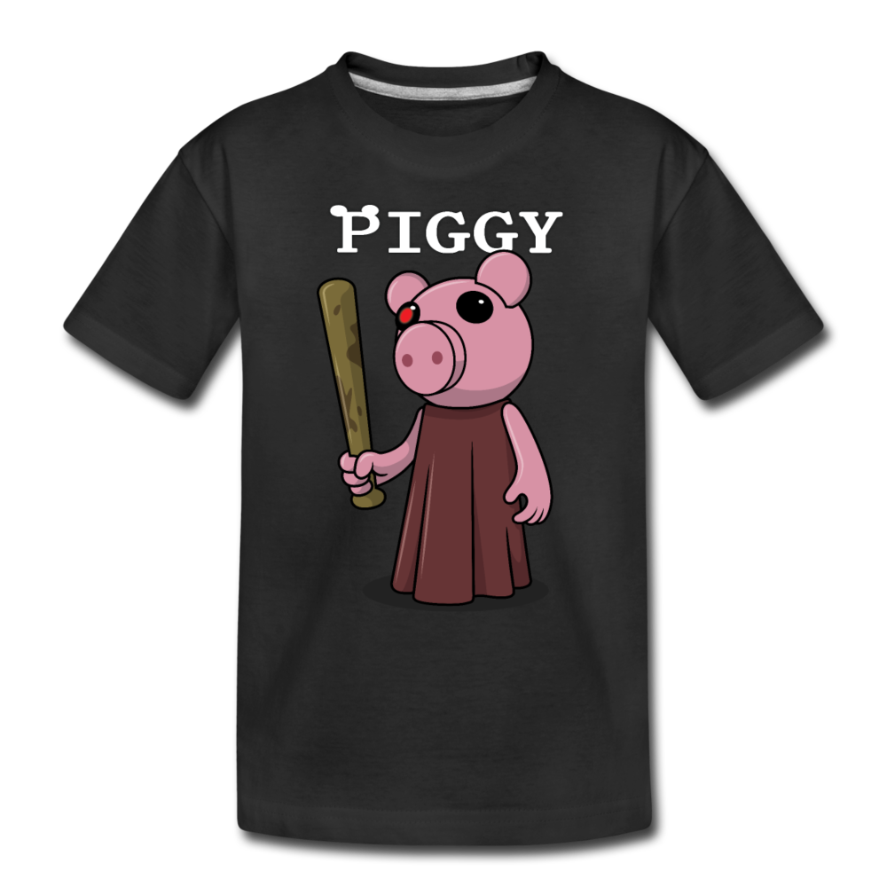 Piggy Logo T-Shirt - black