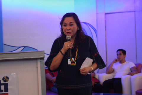 In the Launching of the Department of Trade and Industry (DTI) OTOP PH Hub, DTI Assistant Secretary for Regional Operations Demphna Du- Naga commends DTI-10 for establishment of One Town, One Product Philippines Hub in Misamis Occidental, as she also urged MSME's to level up their products and services. (Shaine Mae R. Nagtalon/PIA Misamis Occidental)