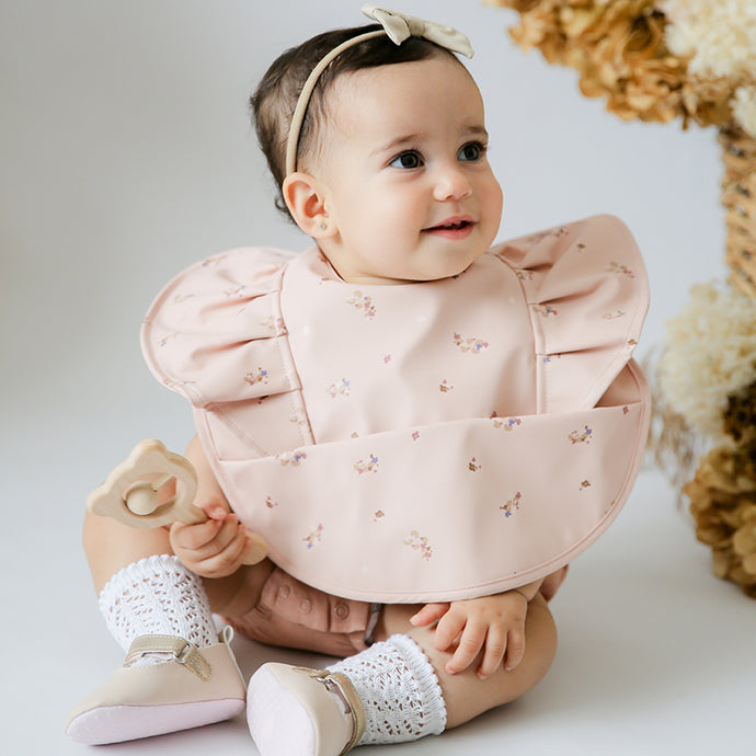 Snuggle Waterproof Bib <br> Posy