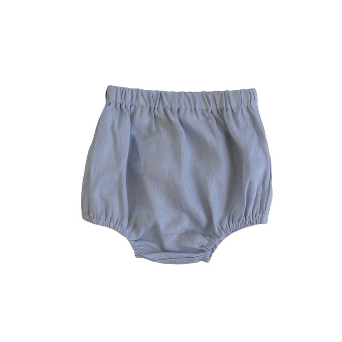 Linen Nappy Cover <br> Ocean
