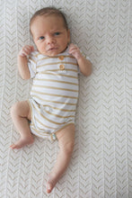 Load image into Gallery viewer, Basics Bodysuit <br> Golden Stripe