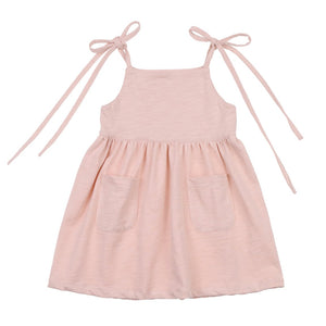 Shoulder Tie Dress <br> Blossom