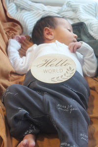 'Hello World' Announcement Disc