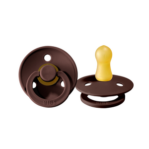 BIBS Dummy 2 pack-  Size 2 <br> Chestnut