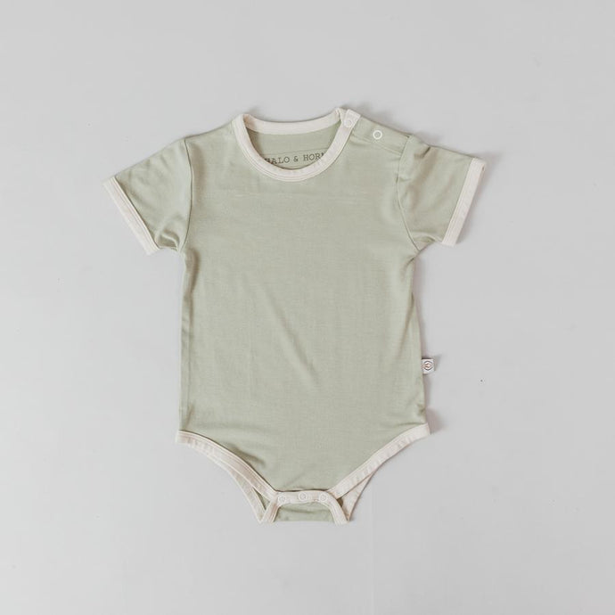 Short sleeve onesie<br> Sage & Dove