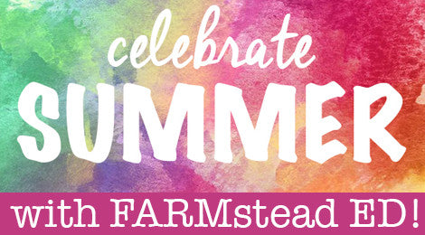 Summer is here and we are celebrating with special deals NOW thru August 20 from our FARMstead ED Partners & Purveyors.