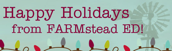 Happy Holidays from FARMstead ED