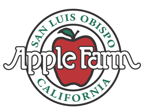 SLO County Farm Trail Apple Farm 2-night stay October Package