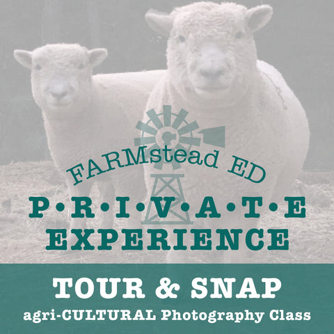 Tour & Snap: agri-CULTURAL Photography
