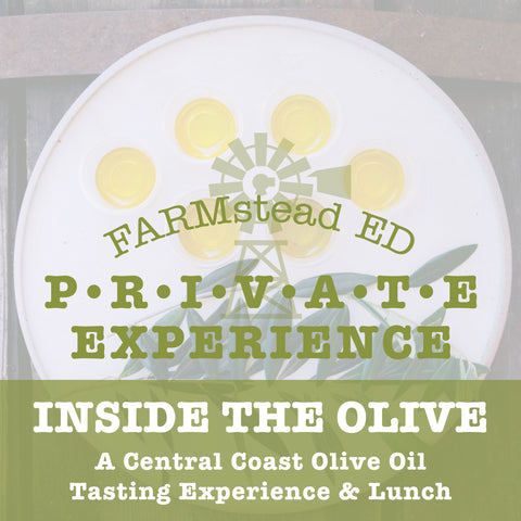 Inside the Olive: A Central Coast Olive Oil Tasting Experience