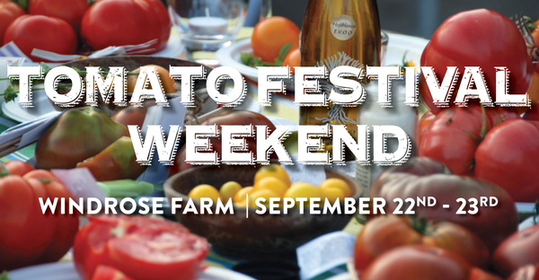 Heirloom Tomato Festival Saturday September 22