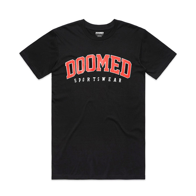 DROP OUT TEE - BLACK