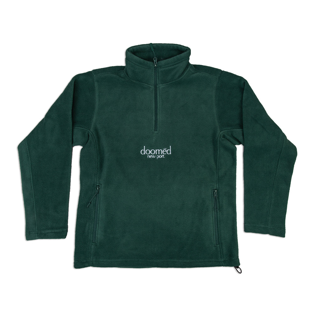 NEW PORT QUARTER FLEECE - GREEN