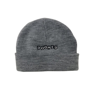 ROLL UP BEANIE GREY