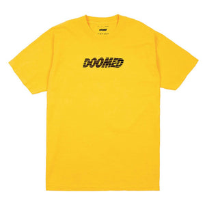 CRACKED TEE - YELLOW