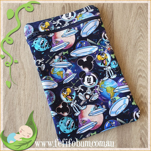 (WB006) Mini PUL lined wetbag 14cm x 22cm cotton knit