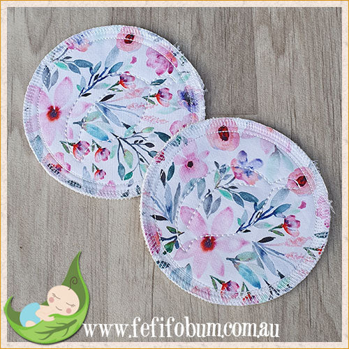 (BP010) Breast Pads - Days - backed with cotton knit