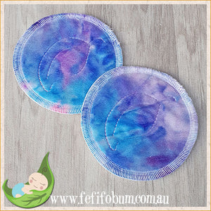 (BP016) Breast Pads - Days - backed with minky