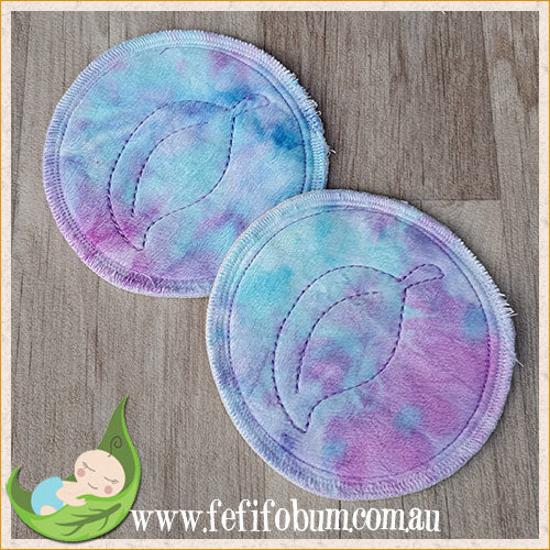 (BP018) Breast Pads - Days - backed with minky
