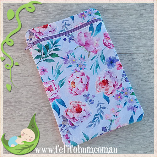 (WB011) Mini PUL lined wetbag 14cm x 22cm cotton knit