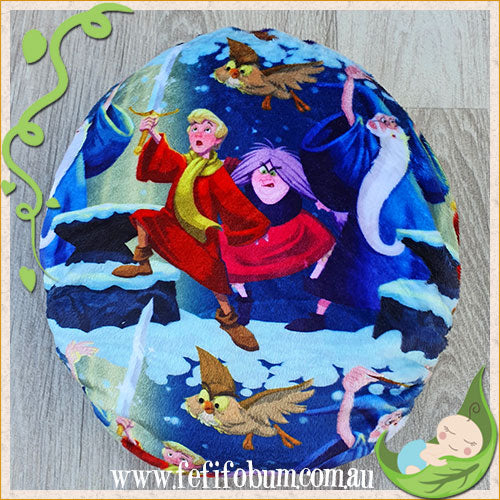 Minky Workhorse Nappy (LARGE) - Sword in the Stone