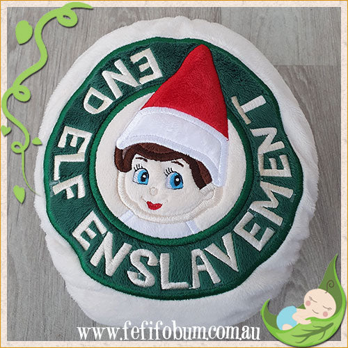Embroidered Minky Nappy (LARGE) - Free All House Elves