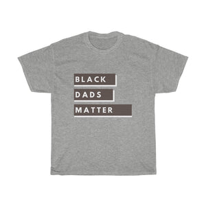 Black Dads Matter Men's Heavy Cotton Tee