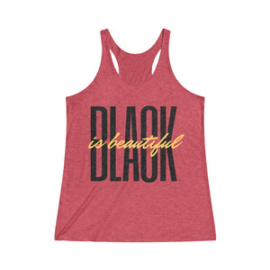 Black is Beautiful - Women's  Racerback Tank