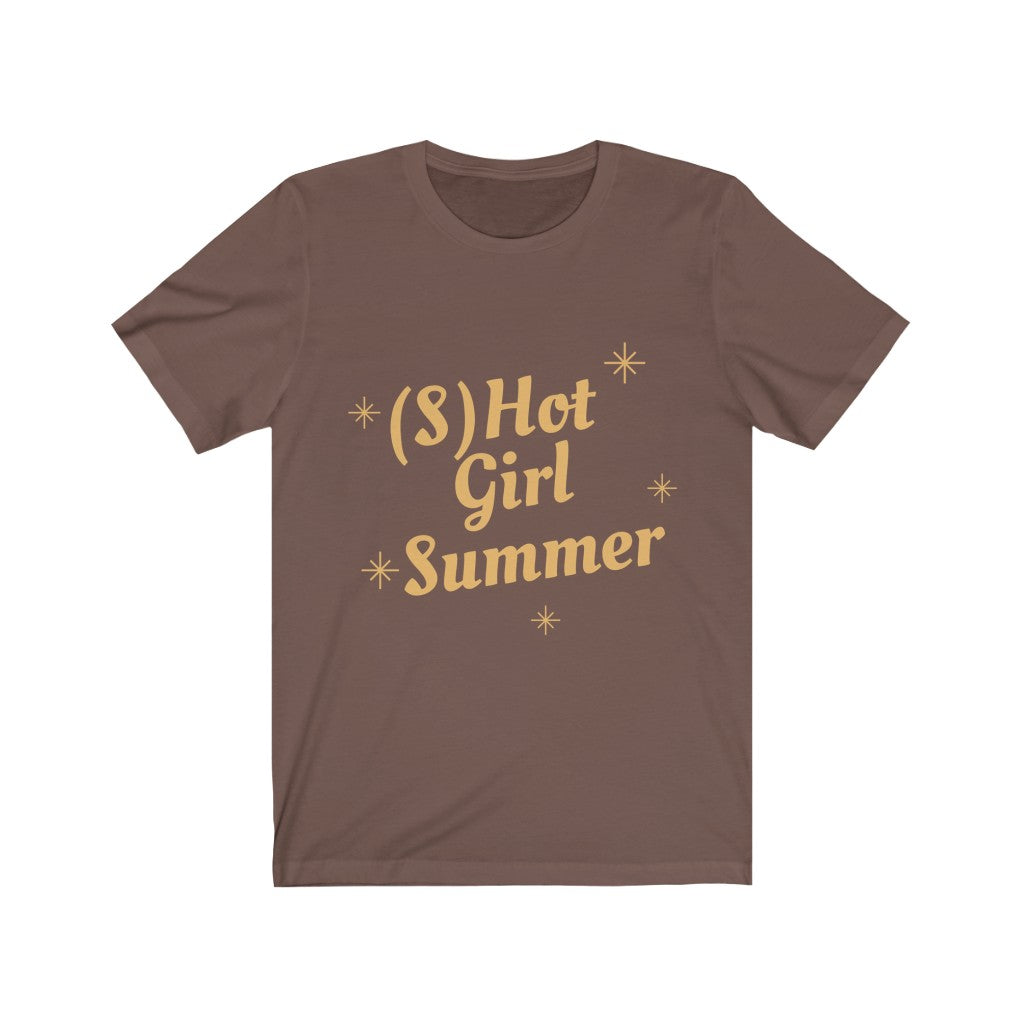 (S)Hot Girl Summer -  Unisex Jersey Short Sleeve Tee