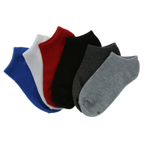 Boys' 6 Pack Low Cuts Socks