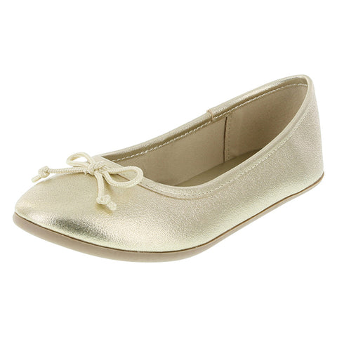 Girls' Fae String Tie Flat