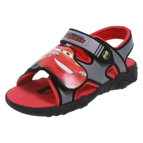 Boys' Toddler Cars Lighted Sandal